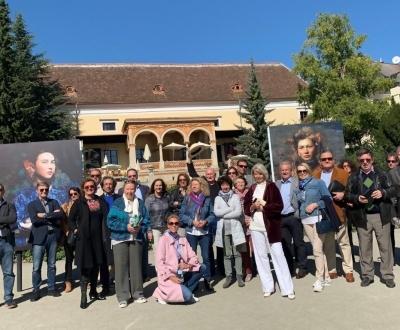 Führung durch das Festival La Gacilly-Baden Photo