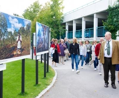 Visite guidée du Festival La Gacilly-Baden Foto @ Baden (18.9.2020)