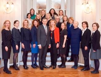 20150311 – Frauentag in der französischen Botschaft