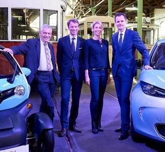 20160524 –  Mobilität in der Smart City bei den Wiener Linien mit Renault und VINCI