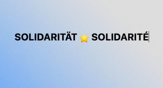 SOLIDARITÄT: Das Wort der CCFA-Generaldirektorin zum Wochenende